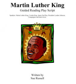 Martin Luther King guided reading + Quiz